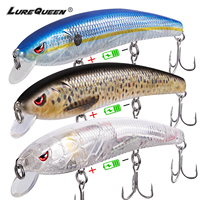 Sinking Twitching Electric Fishing Lures USB Rechargeable Vibration Led Jerkbait Wobblers Hard Bait Minnow Saltwater Musky Bass
