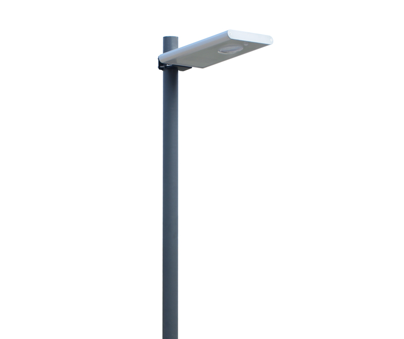 US $235 0 |8w all in one solar street light LED integrated street light  garden light built in lithium battery with CE ROHS ISO Approved-in Street