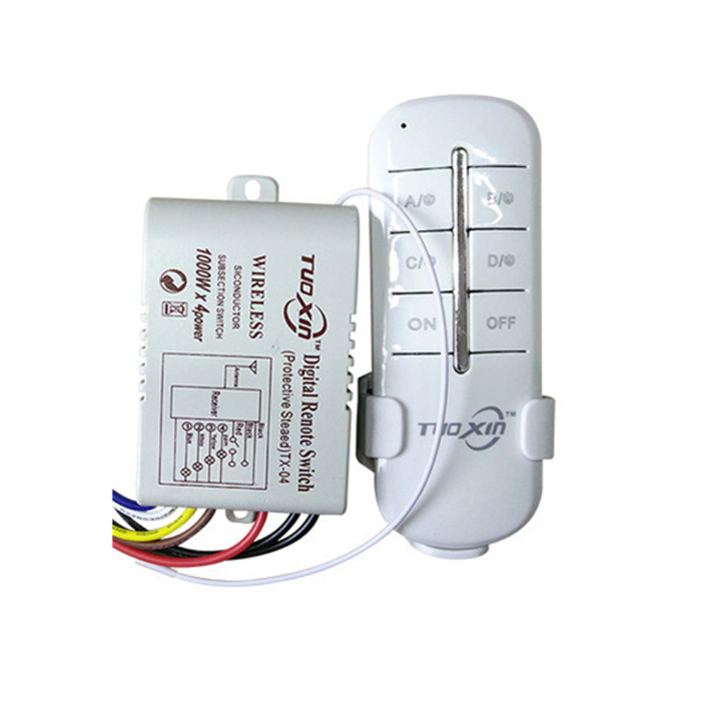 US $15.92 20% OFF Wholesale High Power 4000W Long Distance Intelligent on wiring a 3-way switch, 4-way switch diagram with power to the 4 way switch, installing a 4-way switch,