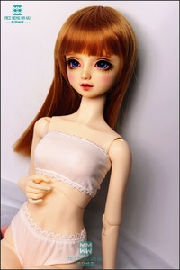 BJD dolls accessories fit 1/3 1/4 1/6 BJD YOSD MYOU MSD SD13 SD14 Lace triangle underwear Tube top White black