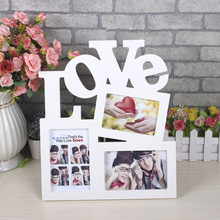 1pc Picture Frame Pvc Poster Modern Photo Frames For Wall Hanging Album Love Soporte Fotos