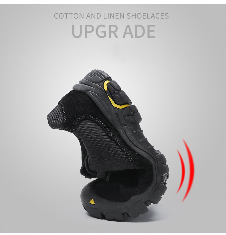 Waterproof Breathable Tactical Anti-Slip Hiking Shoe