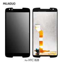 LCD Display For HTC Desire 828 828W D828 Touch Panel Screen Digitizer Sensor Glass Black No Frame Full Assembly Replacement цена в Москве и Питере