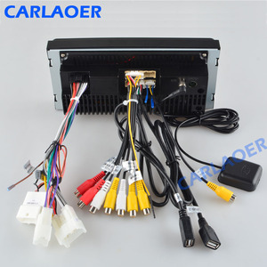 Image 5 - 2 din android 8.1 Universal Car Multimedia Player Car Radio Player Stereo for Toyota VIOS CROWN CAMRY HIACE PREVIA COROLLA RAV4