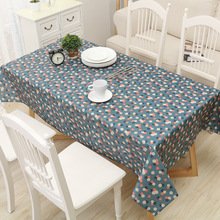 Pastoral Pvc Table Cloth For Kitchen Oilproof Tablecloth Rectangle Plastic  Tablecloths On The Table Home Decor