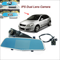 "For chery A3 Car Rearview Mirror Video Recorder Car DVR FHD 1080P Dual Camera Novatek 96655 WDR 5"" IPS Screen Car Black Box"