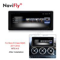 Navifly 10.25inch 3G RAM 32G ROM Android 7.1 4G LTE SIM card car multimedia player for Benz B Class W245 (2011 2012) car gps