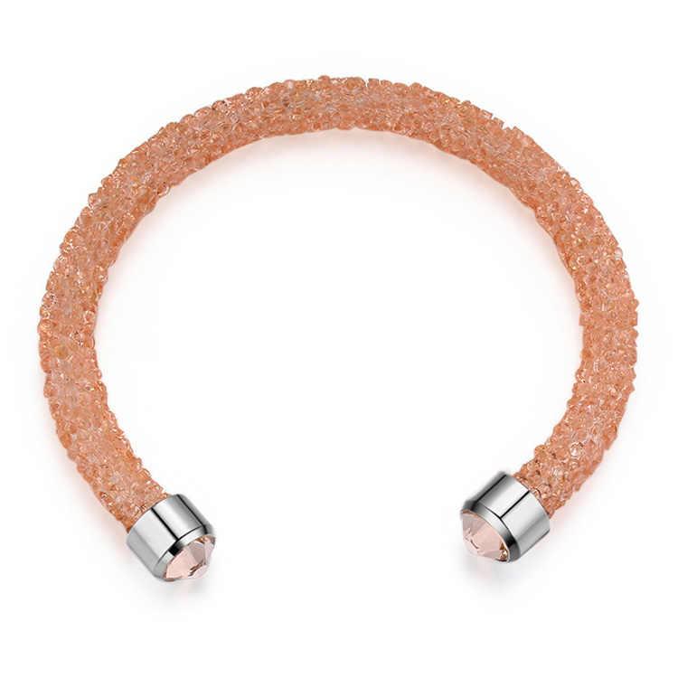 Shining Chain Bracelet Austria Crystal Women Jewelry Gift Pulseira Feminin