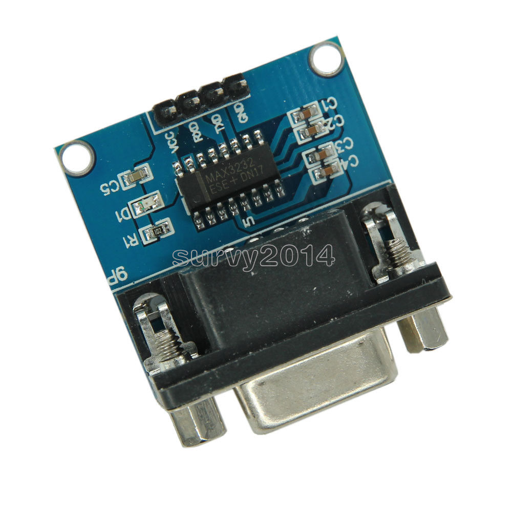 RS232 To TTL Converter Module COM Serial Port Board MAX3232 MAX232CSE usb to ttl uart module serial converter for geekbox