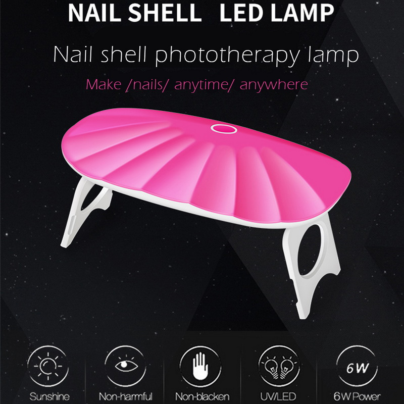 Schönheit & Gesundheit 6 Watt Lampa Led Maniküre Nagel Backen Maschine Mini Uv Led Lampe Schnell Trocknend Shell Led 45 S/60 S Timer Tragbare Phototherapie Nagel Trockner