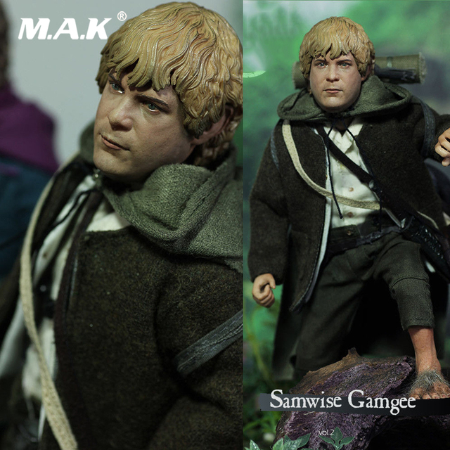 For Collection Full Set The Lord of the Rings Series Samwise Gamgee Sam Slim Version 1:6 Figure LOTR015S for Fans Holiday Gift