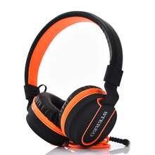 PTM AZ01 Adjustable Stereo Headphones Gaming Headset with Microphone Sponge Cushion for Mobile phone Computer PC Gamer