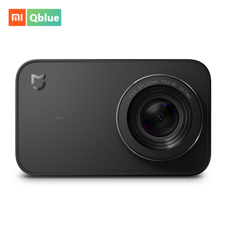 Xiaomi Mijia Mini caméra Sport Action 4 K enregistrement vidéo WiFi caméras numériques 145 grand Angle 6 axes App contrôle 2.4 pouces écran
