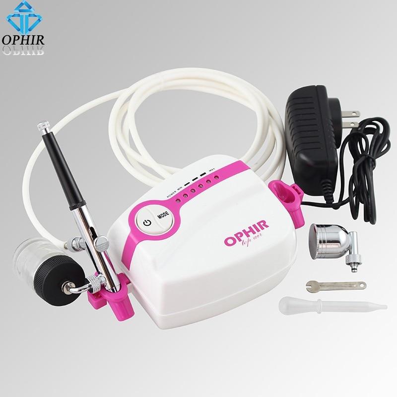 Ophir pro airbrush compressor portátil kit 5-mini