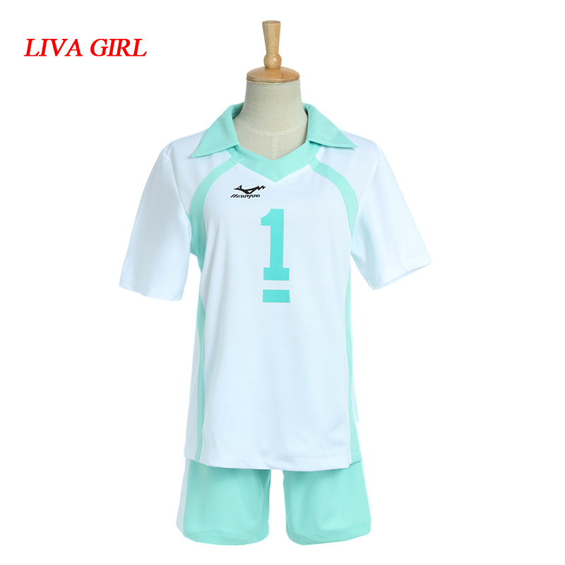 Haikyuu 2 Styles Anime Oikawa Tooru Cosplay Costumes Uniform Jersey High School Volleyball Club Shirts And Pants