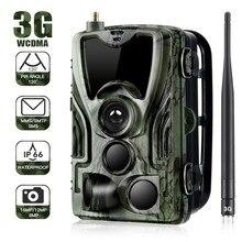 3g MMS Trail camera s охотничья камера s 16MP 36 шт. Инфракрасные светодиоды фото-ловушки уличная Водонепроницаемая Дикая камера наблюдения HC801G