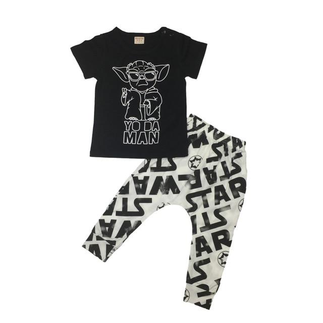 Star Wars Newborn Baby Boy Girl T-Shirt & Pants