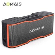 AOMAIS Esporte II Mini Portáteis Alto-falantes Bluetooth com 10 w Microfone Embutido Bluetooth 4.2 Speaker Sem Fio À Prova D' Água de Som Superior