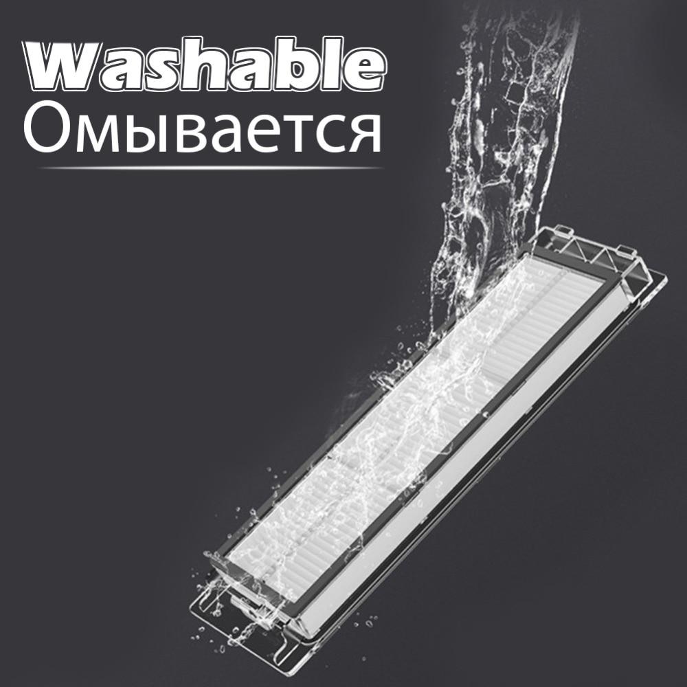 Versión mejorada impermeable filtro Hepa lavable para XiaoMi Mijia 1st/2st Roborock barrido Robot piezas accesorios reemplazo