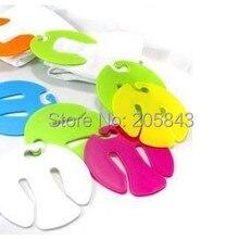 2000 шт./лот многофункциональный мини-носки зажим Малый получения проветривания зажимы для папки для хранения сушки ветронепроницаемая зажим