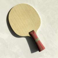 純粋な木材とインナー zlc 卓球ラケット 7 プライプライアリレートカーボン繊維卓球ブレード軽量ピンポンラケット刃