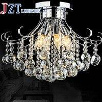 T Европейский Стиль кристалл фойе лампы с светодиодный лампы Циркуляр Роскошные Новинка освещение для коридор прохода модная и элегантная