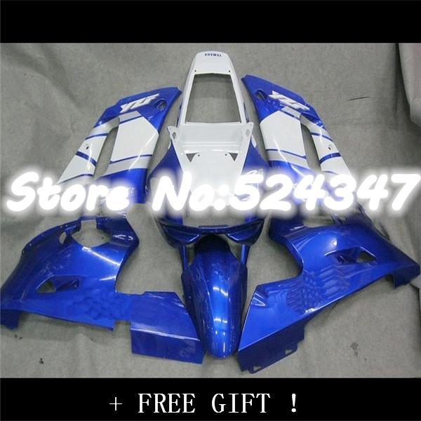 Hot Sales,Hot 98 99 R1 fairing kit For Yzf R1 1998 1999 Race Blue Motorcycle Bodywork Fairings