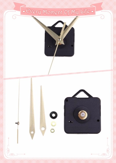 Aliexpresscom Buy 10sets Fashion Simple Gold Hands DIY Quartz