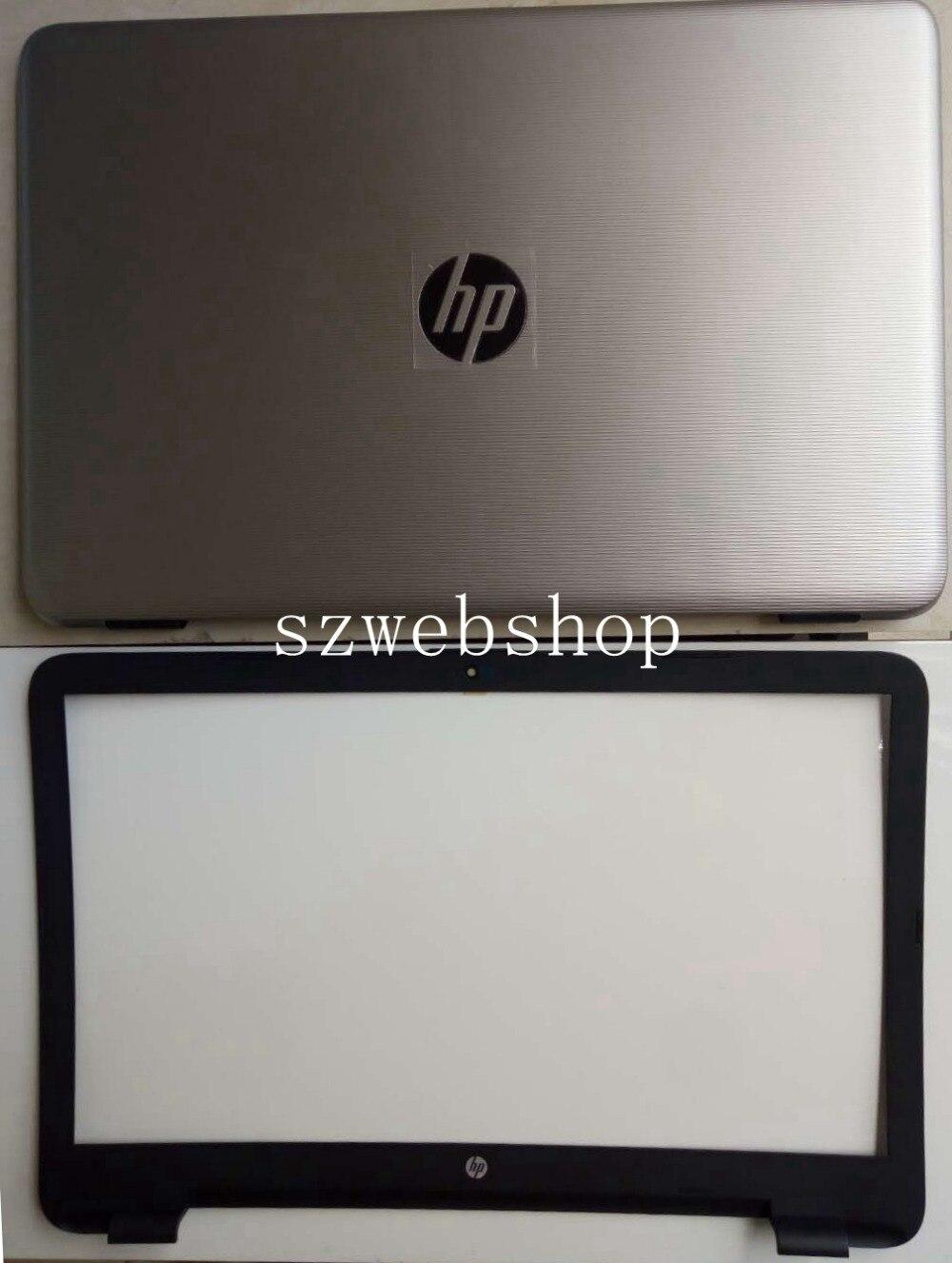 New for hp 17-X114DX 17-X101NR 17-X037CL 17-X026ur 17-x109cy lcd case top back cover+bezel silver huosooyun 17