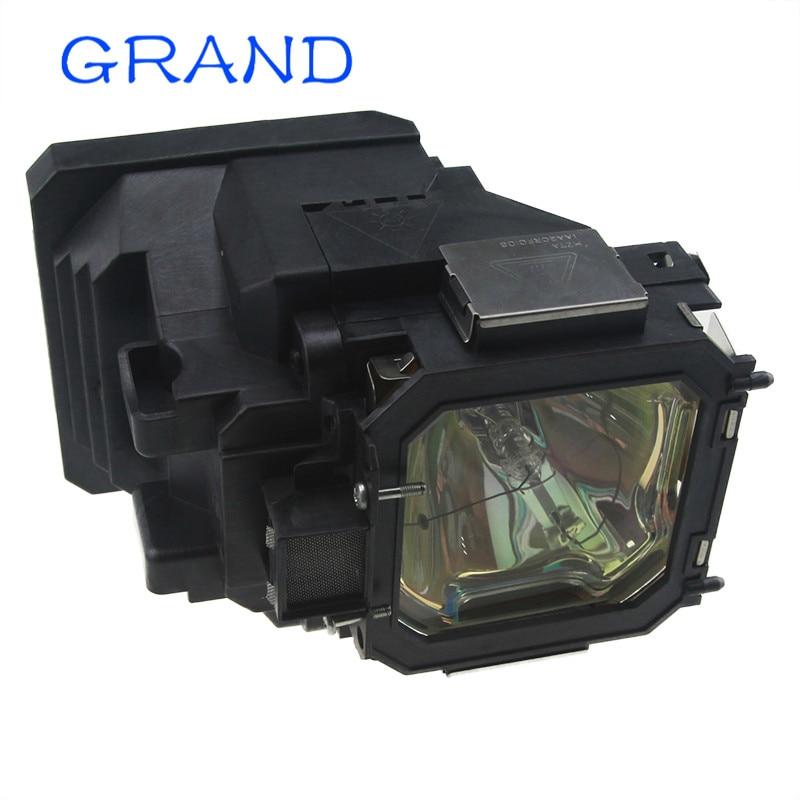 610-330-7329 / POA-LMP105 Compatible Projectr Lamp For SANYO PLC-XT20 PLC-XT21 PLC-XT25 VIP300/1.3 E22.5  With Housing HAPPYBATE