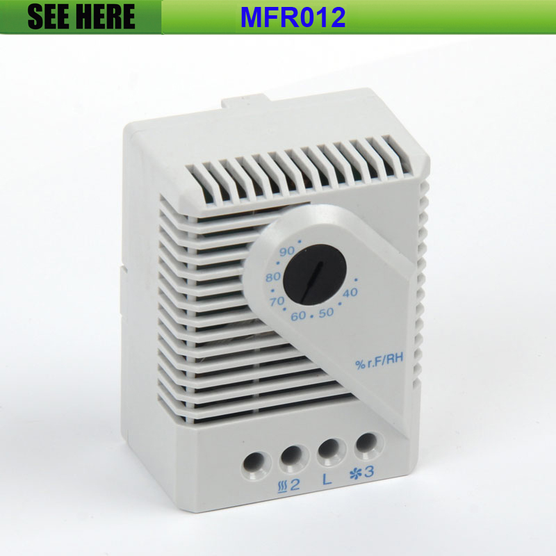 Free Shipping 40- 90 degree adjustable Humidistat Mechnical Accurate Humidity Controller For Industrial Cabinet free shipping 90