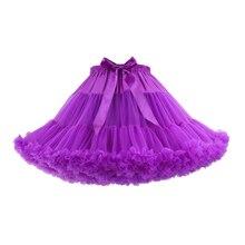 Doragrace Short Tulle Petticoat Dress Girls Skirt Tutu Lolita Faldas Cupcake Multi Color