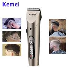 Kemei km-1627 Rechargeable Electric Hair Trimmers New Style Professional Cordless Hair Clipper Razor Cutter Barber Beard Shaver цена и фото