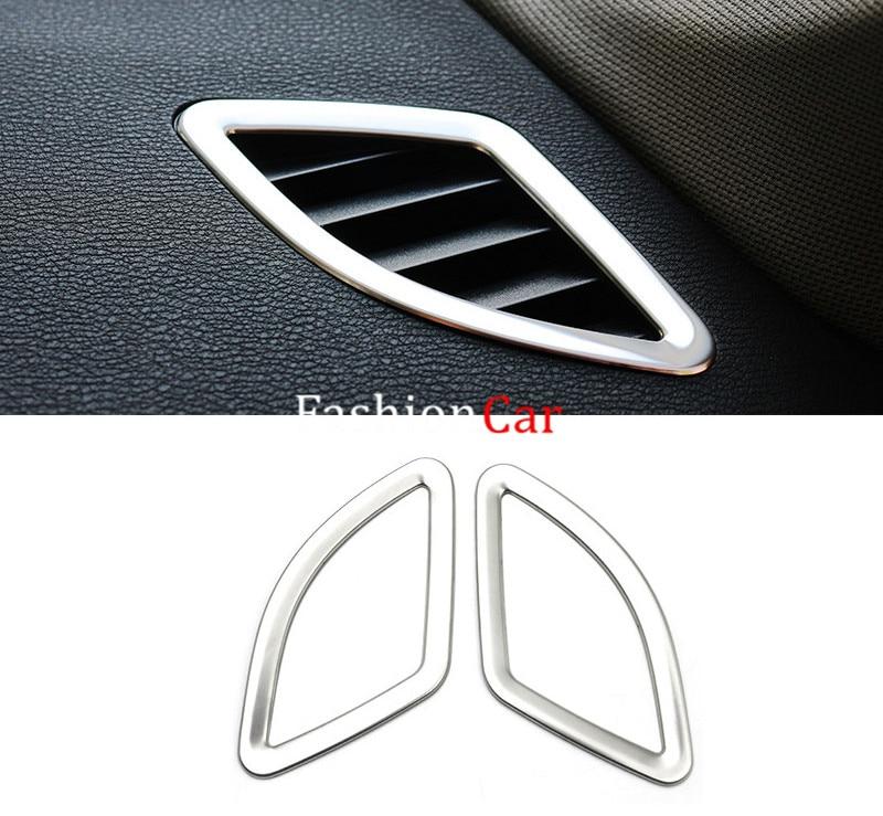 Pour BMW X1 F48 2016 2017 intérieur climatisation sortie couvercle garniture 6 pièces