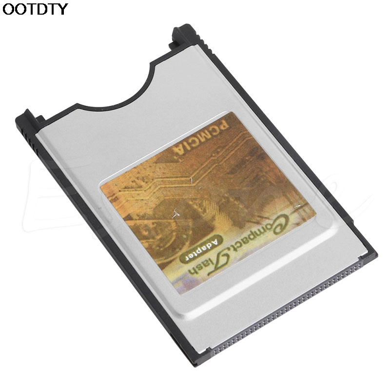 New Compact Flash CF To PC Card PCMCIA Adapter Cards Reader For Laptop Notebook Hot