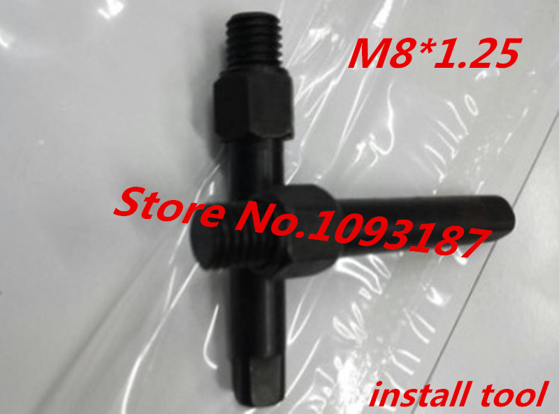 1PC M8 Manual Self Tapping Insert Install Tool, Screw Bushing Install tool, Wire Thread Insert Tool wire thread insert installation tool braces tapping nut wrench 468 101 216