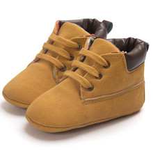Fashion Newborn Baby Boy Girl Moccasins Shoes Lace-Up Soft Soled Anti-slip Shoes Infant Boy Girl Toddler Shoes First Walkers #N8