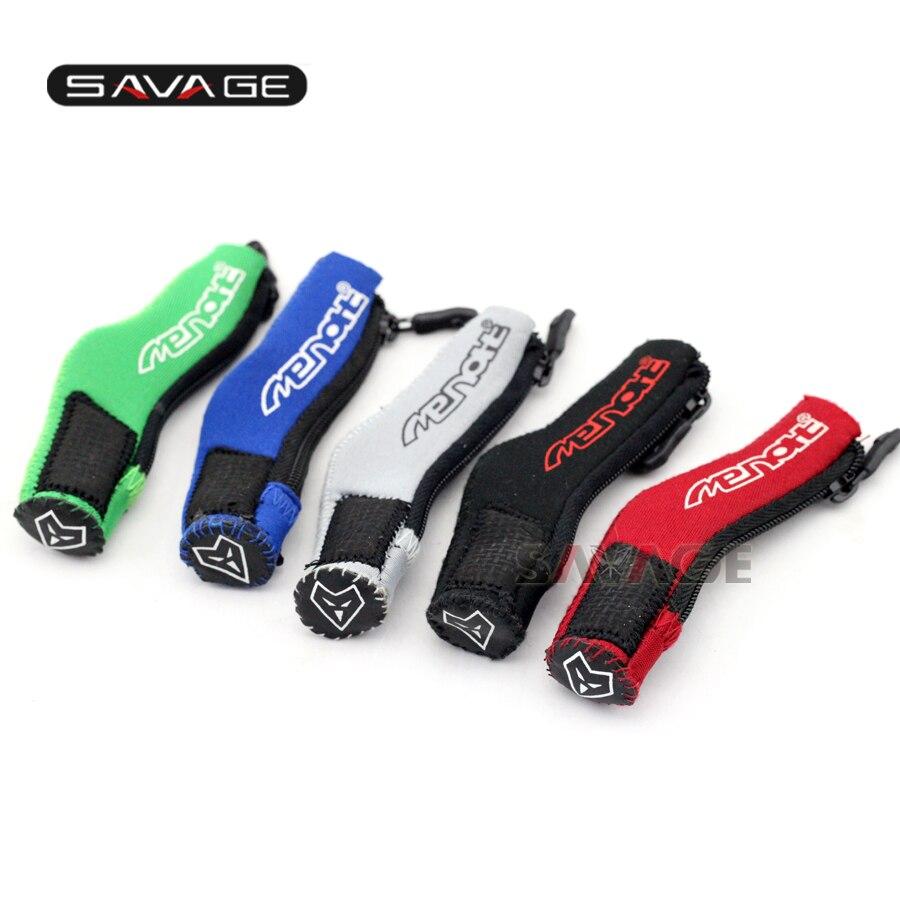 Для Сузуки СВ650 SV1000 TL1000 SFV650 GW250 DRZ400 Е/С/см мотоцикл педаль переключения передач ткань носок Крышка загрузки обуви протектор