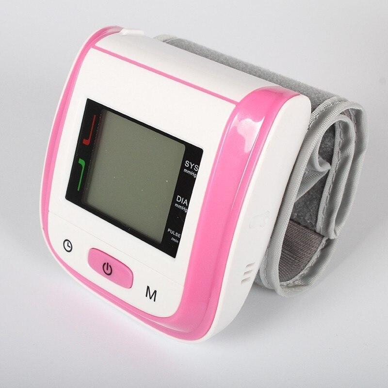 Handgelenk Blutdruck Monitor Automatische Medizinische Ausrüstung Herz Beat Pulse Meter Maschine Tonometer Blutdruckmessgeräte pulsometer
