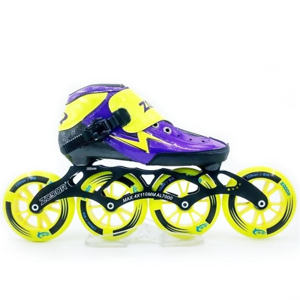 Jeerkool Heatmoldable Rollschuhe Carbon Fiber Geschwindigkeit Inline Skates 4*110 Rad Für Kind Erwachsene Racing Sport Schuh Patines Sh14 Sport & Unterhaltung