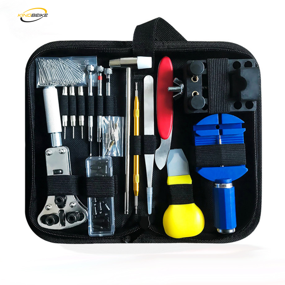 KINGBEIKE Watch Tools Repair Tool Kit For Watchmaker Band Link Remover Battery Change Professional Horloge Gereedschap
