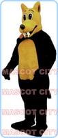 Coyote Wolf mascot costume custom cartoon coyote theme wholesale anime cosplay costumes carnival fancy dress fursuit kits 2666