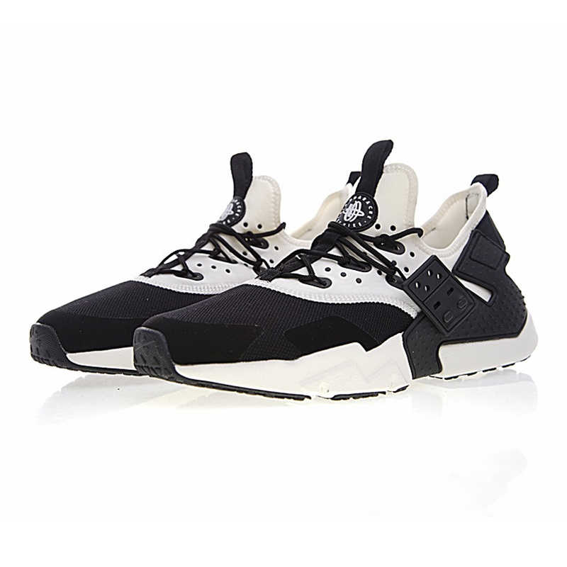 huge selection of c408f 453e6 Breathable NIKE AIR HUARACHE DRIFT PRM Men's Running Shoes ,Outdoor  Sneakers Shoes,White & Black Non-slip Lightweight AH7334 002