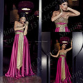 Abaya in dubai kaftan casual party dresses strapless gold sequins long prom dresses 2016 fuchsia pink formal women evening gowns