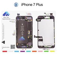 UANME 30 x 24 cm 1 Piece Professional Guide Magnetic Screw Mat for iPhone 7 7plus 6 6s 6plus 5 5s 5c Pad Repair Tools