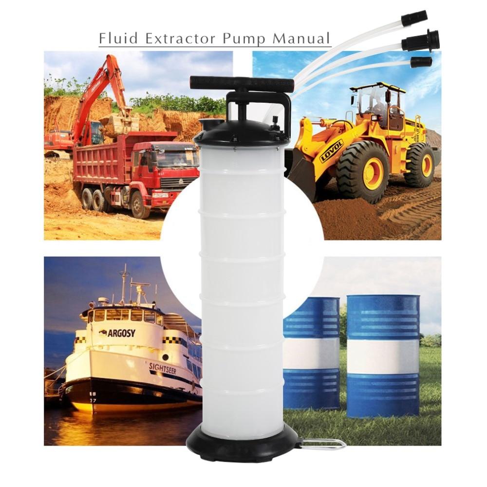 6.5L Auto Car Brake Oil Fluid Extractor Drained Replacement Repair Tool Manual Oil Pumping Machine J25C27