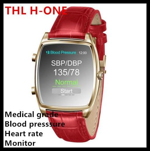 Original THL H-One Smart Watch Identify Blood Pressure Heart Rate Sports Sleep Monitor Smartwatch Wristwatch for iPhone Samsung