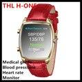 Thl originais h-one smart watch identificar smartwatch relógio de pulso monitor de pressão arterial e freqüência cardíaca sports sono para iphone samsung