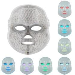Новые фотон Электрический светодиодный маска для лица дома Применение света омоложения кожи против акне морщинки терапии Красота Salon