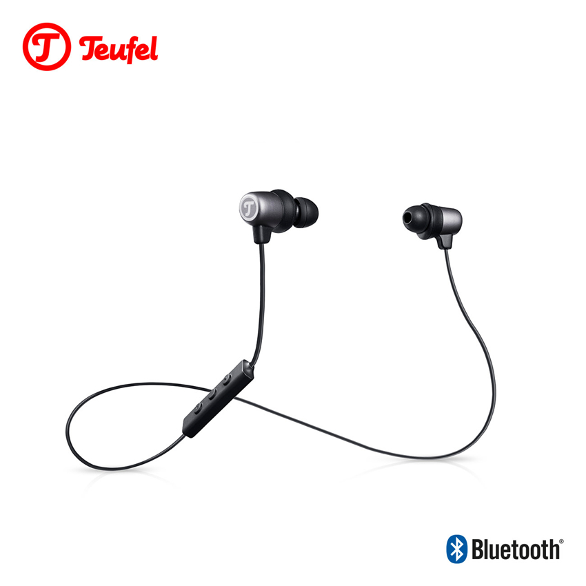 Original Teufel MOVE BT in-ear Headphone Support aptX Wireless Sport Earphone High-end Music Quality bt sport minimum broadband speed
